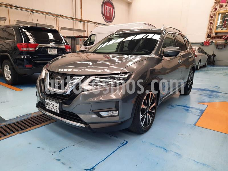 Nissan X-Trail Exclusive 2 Row usado (2018) color Gris precio $360,000