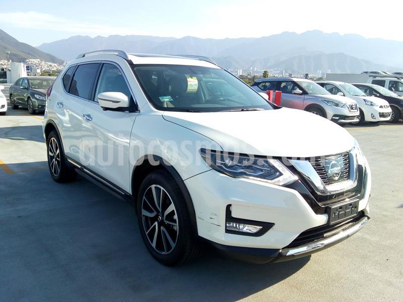 Nissan X-Trail Exclusive 2 Row usado (2018) color Blanco precio $409,000