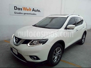 Nissan X-Trail 5p Exclusive 2 L4/2.5 Aut usado (2017) color Blanco precio $285,000