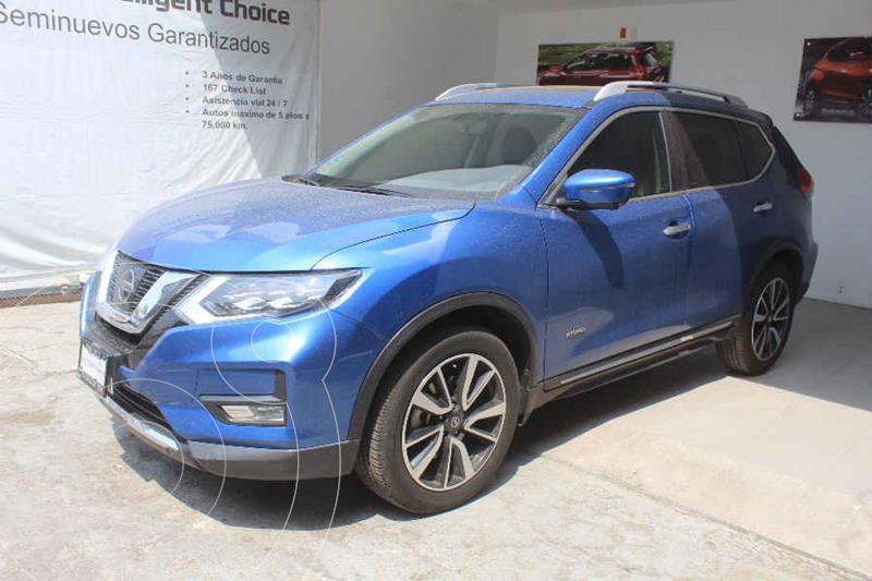 Foto Nissan X-Trail Exclusive 2 Row Hybrid usado (2019) color Azul precio $499,000