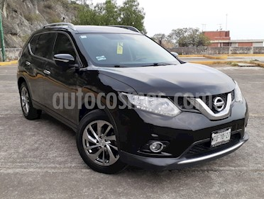 Nissan X-Trail Advance 2 Row usado (2015) color Negro precio $215,000