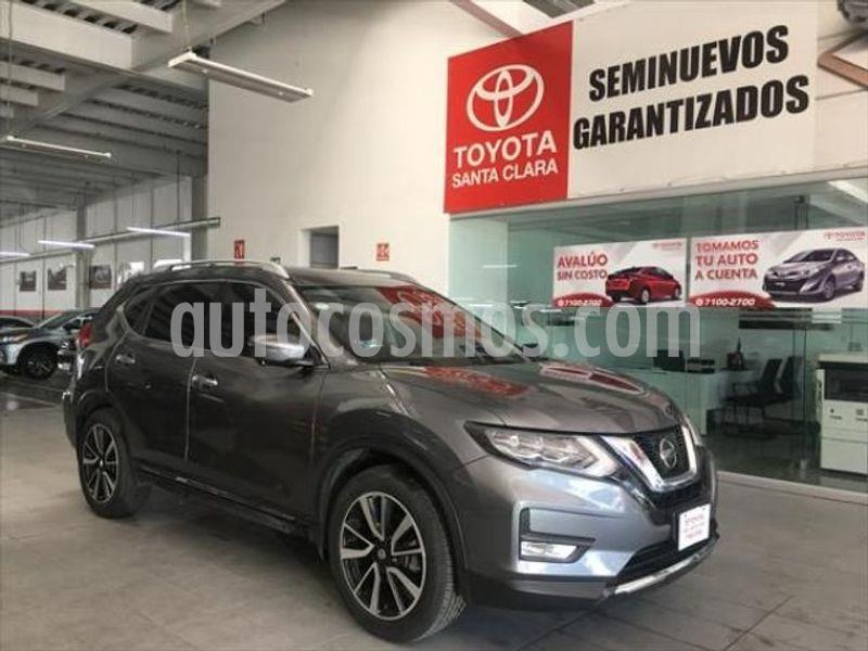 Nissan X-Trail Exclusive 2 Row usado (2018) color Gris precio $355,000