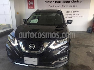 Nissan X-Trail 5P ADVANCE CVT CD QC 5 PAS. RA-18 usado (2018) color Negro precio $360,000