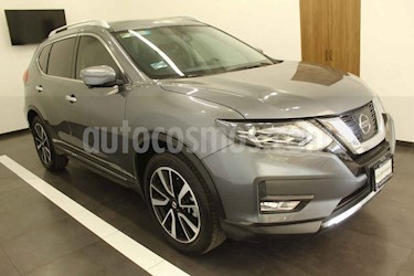 Nissan X-Trail 5p Exclusive 3 L4/2.5 Aut Banca abatible usado (2018) color Gris precio $410,000