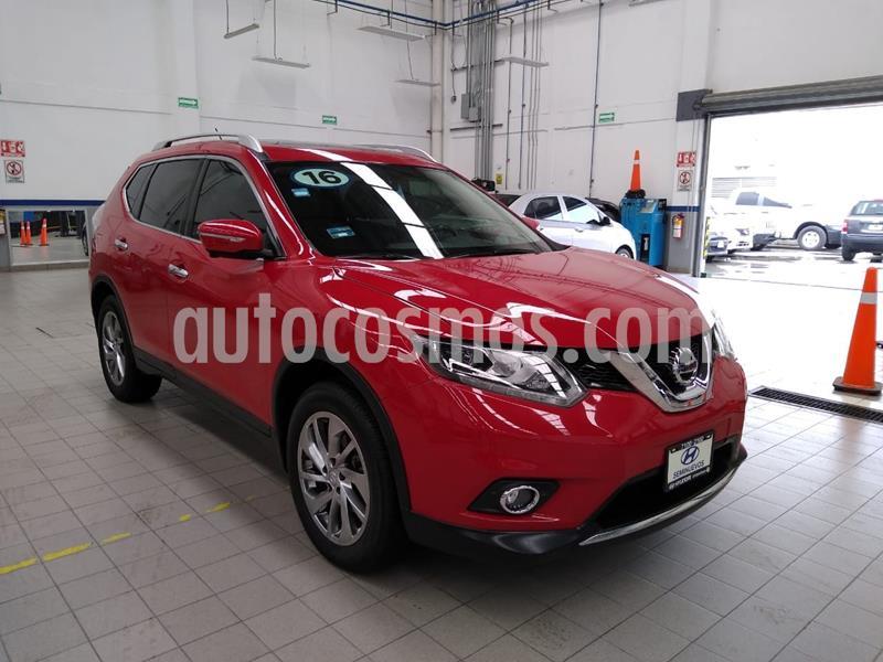 Nissan X-Trail Exclusive 2 Row usado (2016) color Rojo precio $275,000