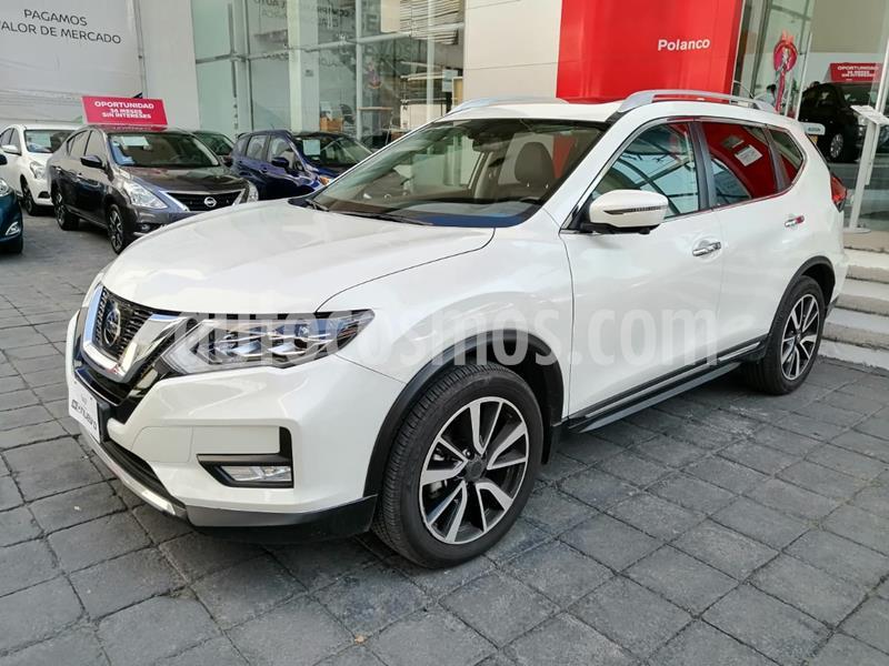 Nissan X-Trail Exclusive 2 Row usado (2020) color Blanco precio $525,000