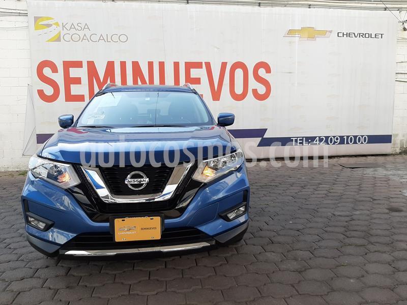 Nissan X-Trail Advance 2 Row usado (2019) color Azul precio $383,000