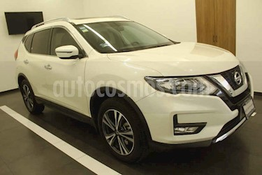 Nissan X-Trail 5p Advance 3 L4/2.5 Aut Banca abatible usado (2018) color Blanco precio $349,000