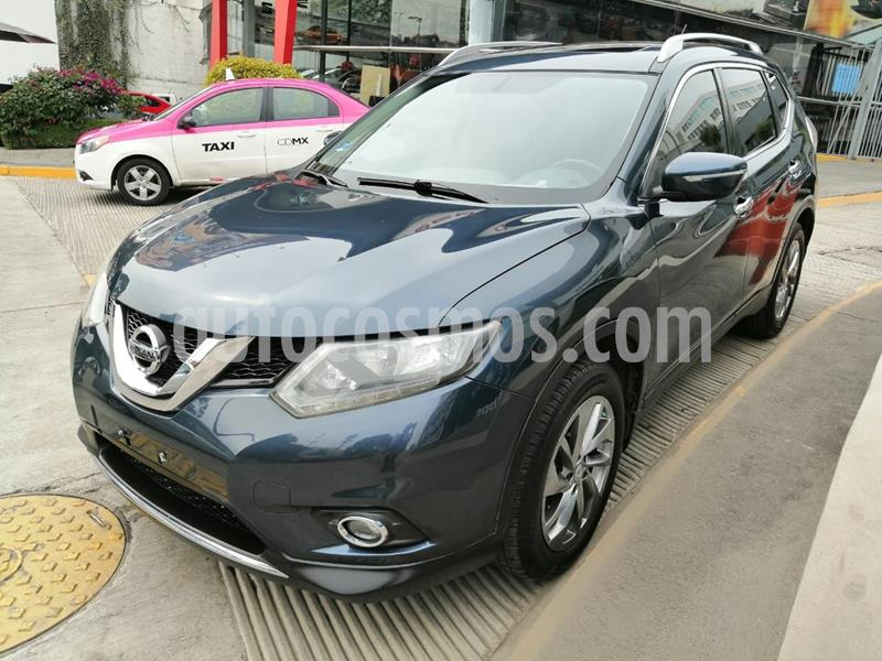 Nissan X-Trail Advance 2 Row usado (2015) color Azul precio $225,500