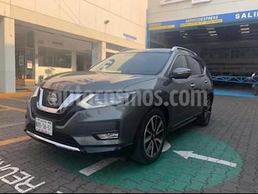 Nissan X-Trail 5P EXCLUSIVE CVT PIEL CD QC GPS 5 PAS. RA-18 usado (2018) color Plata precio $375,000