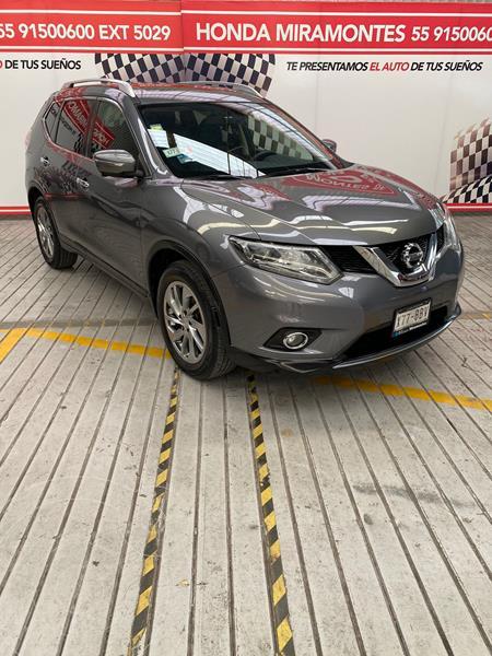 Foto Nissan X-Trail Exclusive 3 Row usado (2016) color Gris Metalico financiado en mensualidades(enganche $81,250 mensualidades desde $7,554)
