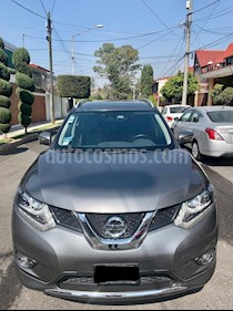 Nissan X-Trail Exclusive 2 Row usado (2015) color Gris precio $249,000