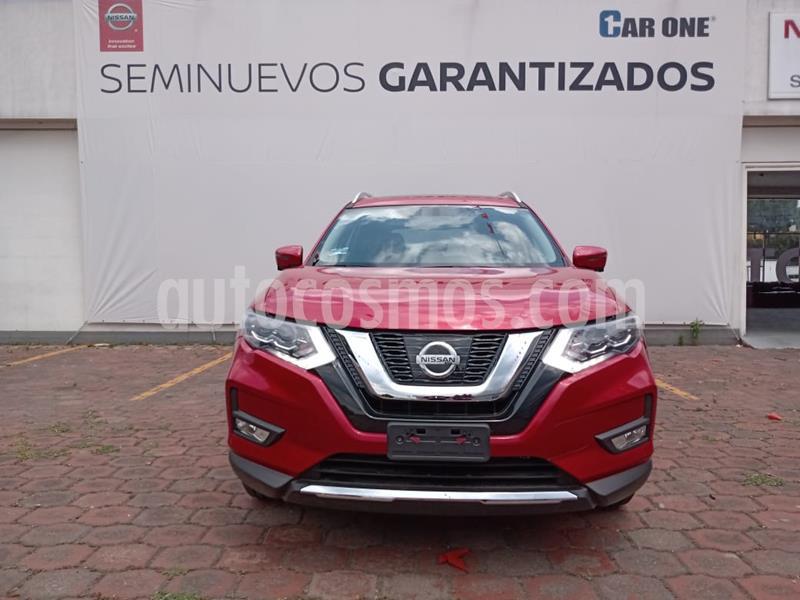 Nissan X-Trail Exclusive 2 Row usado (2019) color Rojo precio $494,900