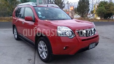 Nissan X-Trail 5P EXCLUSIVE CVT 6 CD BL PIEL QC XENON RA-18 4X4 usado (2013) color Rojo precio $215,000