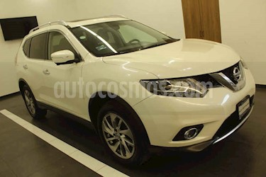 Nissan X-Trail 5p Exclusive 2 L4/2.5 Aut usado (2017) color Blanco precio $295,000