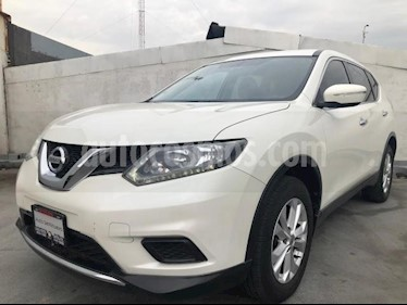 Nissan X-Trail 5P SENSE CVT CD 5 PAS. RA-17 usado (2016) color Blanco precio $250,000