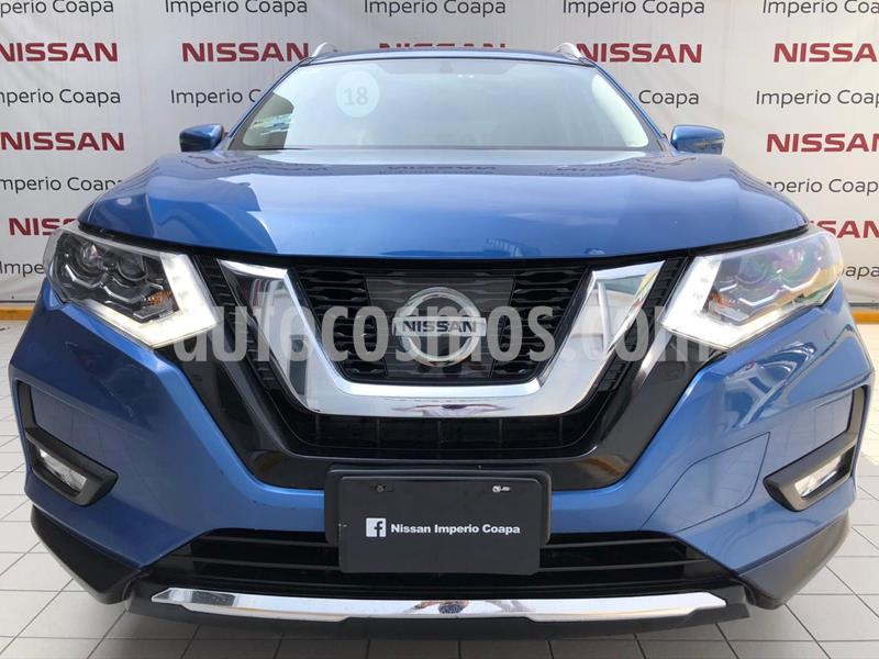Nissan X-Trail Exclusive 2 Row usado (2018) color Azul precio $360,000