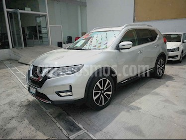 Nissan X-Trail Exclusive 2 Row usado (2018) color Plata precio $389,900