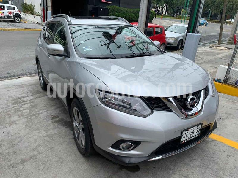 Nissan X-Trail Advance 3 Row usado (2016) color Plata precio $299,900