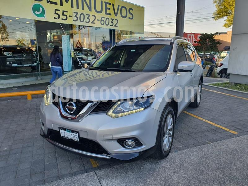 Nissan X-Trail Exclusive 2 Row usado (2017) color Plata precio $285,000