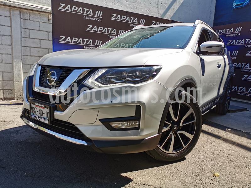 Nissan X-Trail Exclusive usado (2018) color Plata precio $340,000