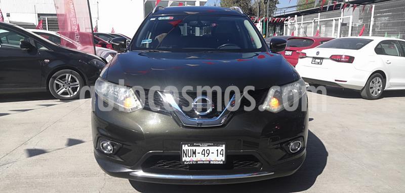 Nissan X-Trail Advance 3 Row usado (2015) color Verde Oliva precio $225,000