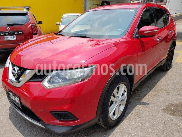 Nissan X-Trail Sense 2 Row usado (2016) color Rojo precio $249,000