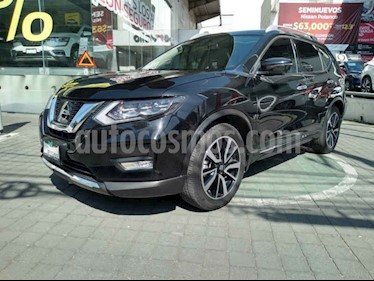Nissan X-Trail Exclusive 3 Row usado (2019) color Negro precio $449,000