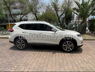 Nissan X-Trail Exclusive 2 Row Hybrid usado (2018) color Blanco Perla precio $399,000