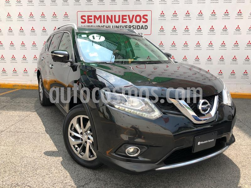 Nissan X-Trail Exclusive 2 Row usado (2017) color Negro precio $275,000