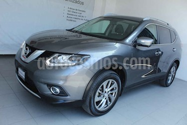 Nissan X-Trail 5p Exclusive 3 L4/2.5 Aut Banca abatible usado (2017) color Gris precio $329,000