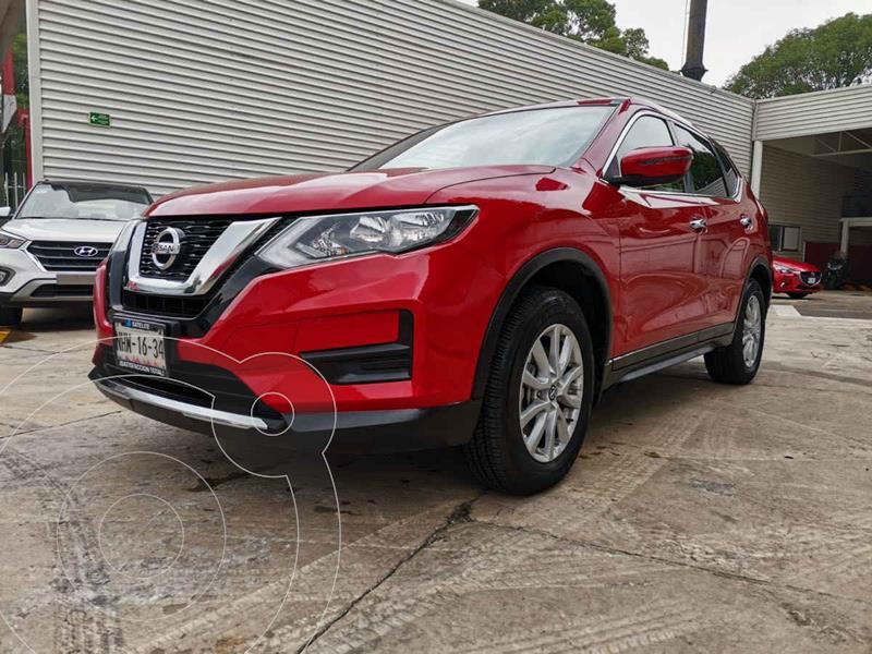 Foto Nissan X-Trail Sense 3 Row usado (2019) color Rojo precio $385,000