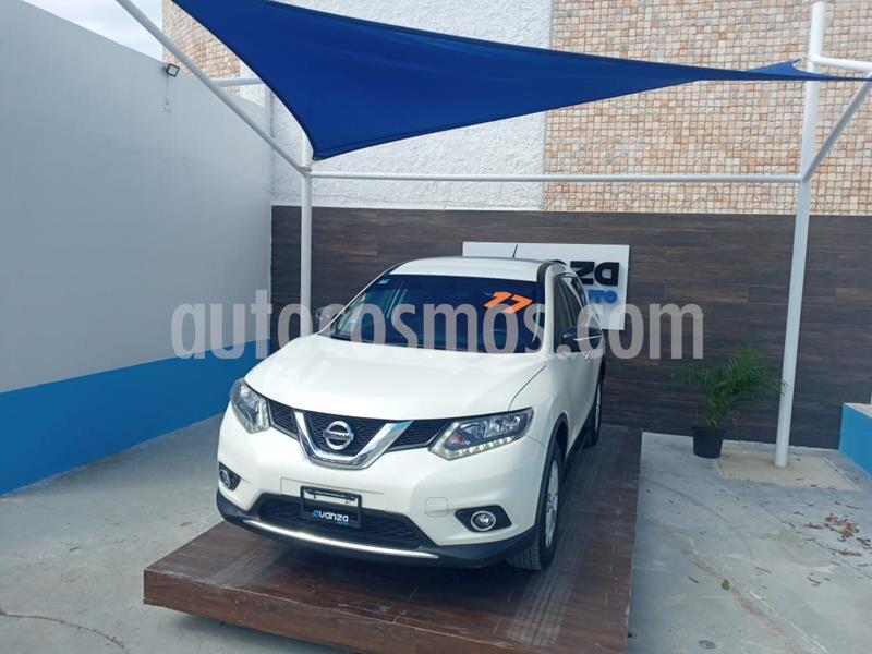 Nissan X-Trail Sense 3 Row usado (2017) color Blanco precio $260,000