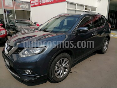 Nissan X-Trail Advance 2 Row usado (2017) color Azul Metalico precio $270,000