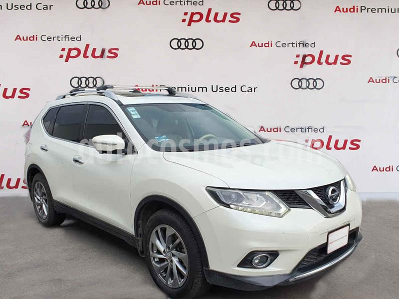 Nissan X-Trail Exclusive 3 Row usado (2016) color Blanco precio $280,000