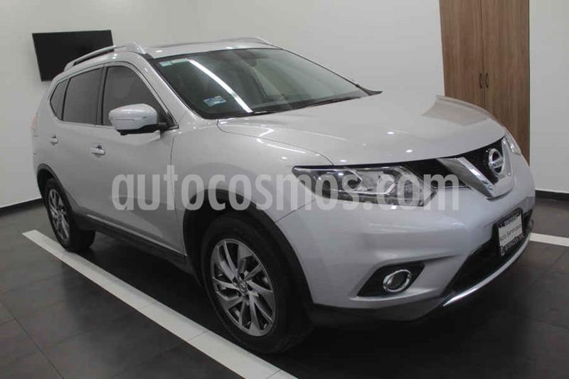 Nissan X-Trail Advance 2 Row usado (2016) color Plata precio $275,000