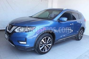 Nissan X-Trail 5p Exclusive 2 L4/2.5 Aut usado (2018) color Azul precio $369,000