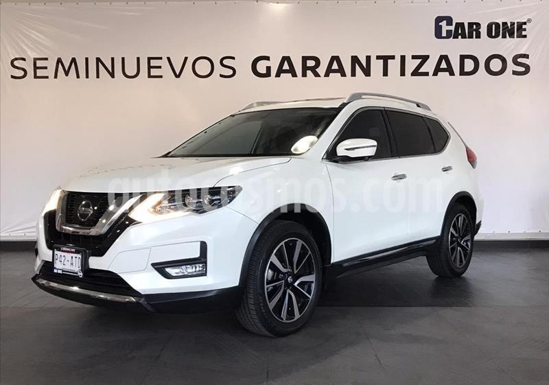 Nissan X-Trail Exclusive 2 Row usado (2018) color Blanco precio $374,900