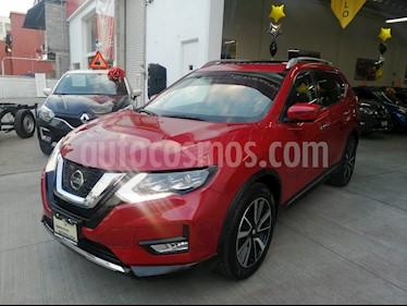 Nissan X-Trail Exclusive 2 Row usado (2018) color Rojo precio $380,000