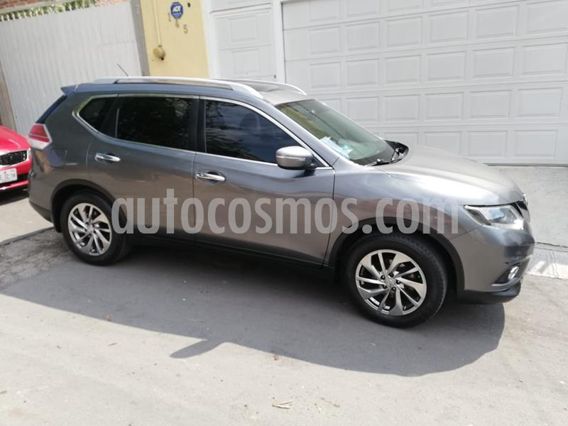 Nissan X-Trail Advance 2 Row usado (2017) color Gris precio $260,000