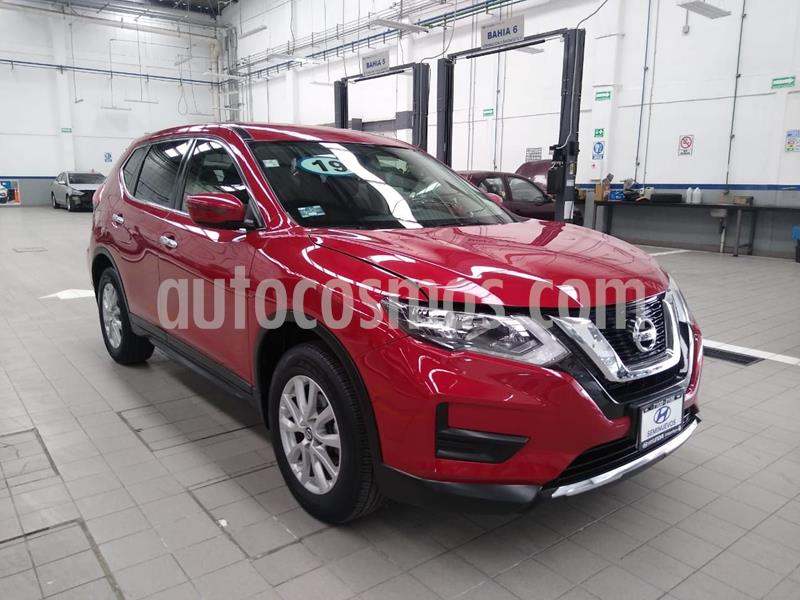Nissan X-Trail Sense 2 Row usado (2019) color Rojo precio $340,000