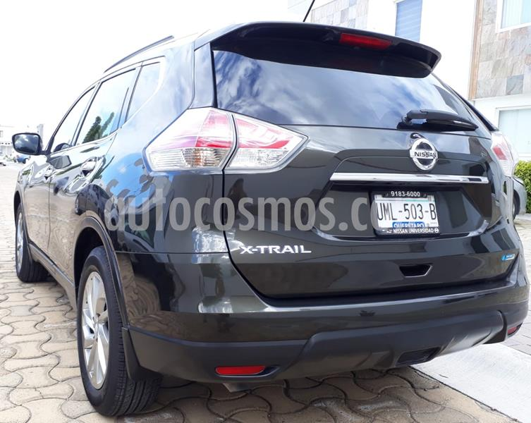 Nissan X-Trail Advance 2 Row usado (2015) color Verde Oliva precio $222,000