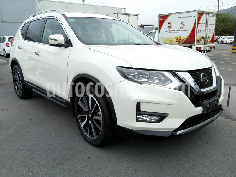 Nissan X-Trail Exclusive 2 Row usado (2019) color Blanco precio $450,000