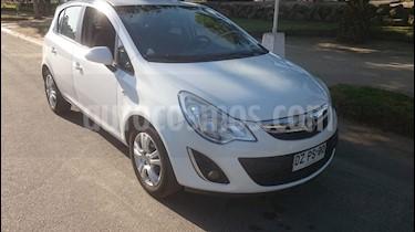 Opel Corsa  1.4T Enjoy Aut Full  usado (2012) color Blanco precio $5.100.000