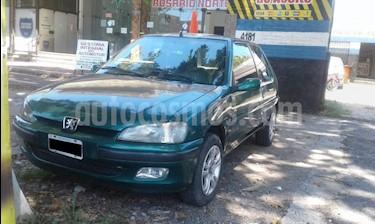 Foto venta Auto usado Peugeot 106 S16 (1998) color Verde Oscuro precio $99.000