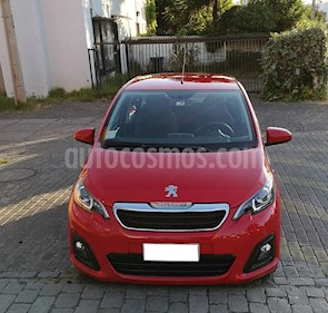 Peugeot 108 1.2 Puretech Active Pack usado (2017) color Rojo precio $6.500.000