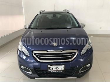 Foto venta Auto usado Peugeot 2008 1.6L (2015) color Azul Velocidad precio $174,900