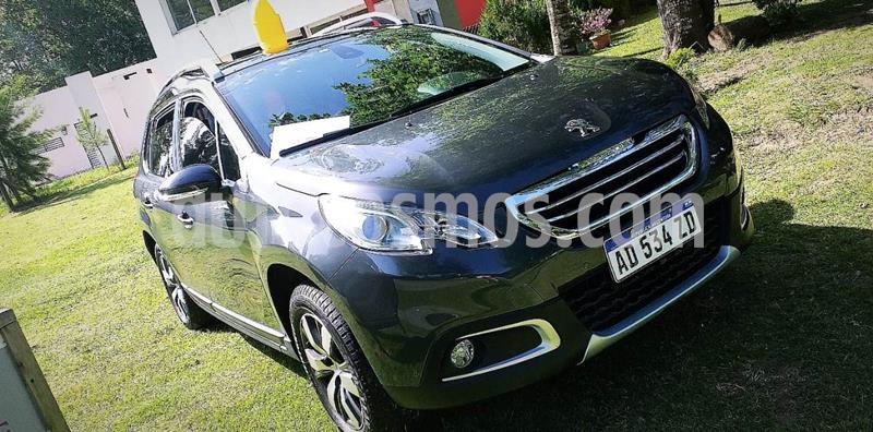 Peugeot 2008 Allure usado (2019) color Gris Grafito precio u$s11.000