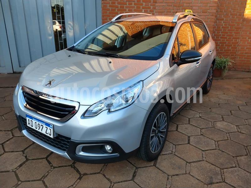 Peugeot 2008 1.6 16v. Active MT (115cv) usado (2018) color Gris Plata  precio $1.250.000