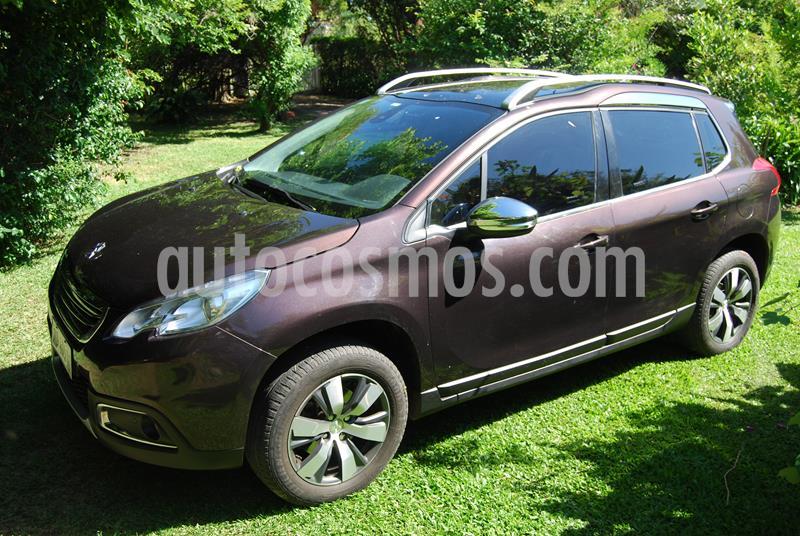 Peugeot 2008 Sport THP usado (2017) color Gris precio $1.450.000